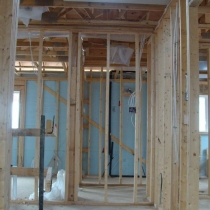 View Solatube in upstairs hallway new construction, Greenpark homes, Vaughan,ON